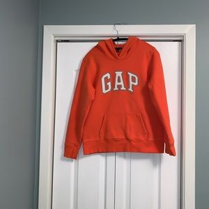 Gap orange hoodie size medium